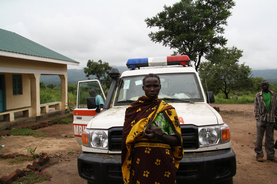 Anne Martins is a village midwife in Onura