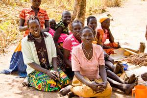 Women Onura village south Sudan