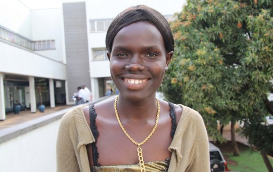 Miss Akello Susan, a new Field Coordinator