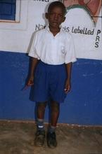 Arsenal Bugere - sponsored child