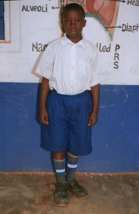 Emma Mandela - sponsored child