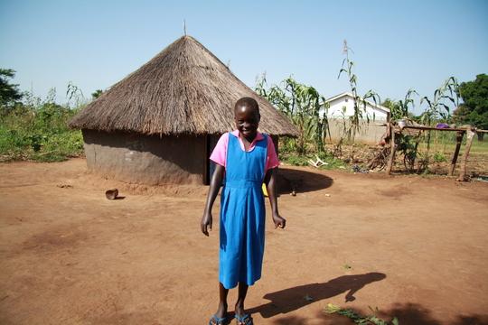 Christina Ayaa - sponsored pupil