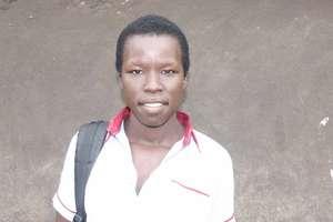 Adong, returns to school in seond term in Uganda