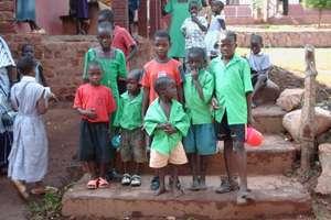 South Sudanese refugee children living in Uganda