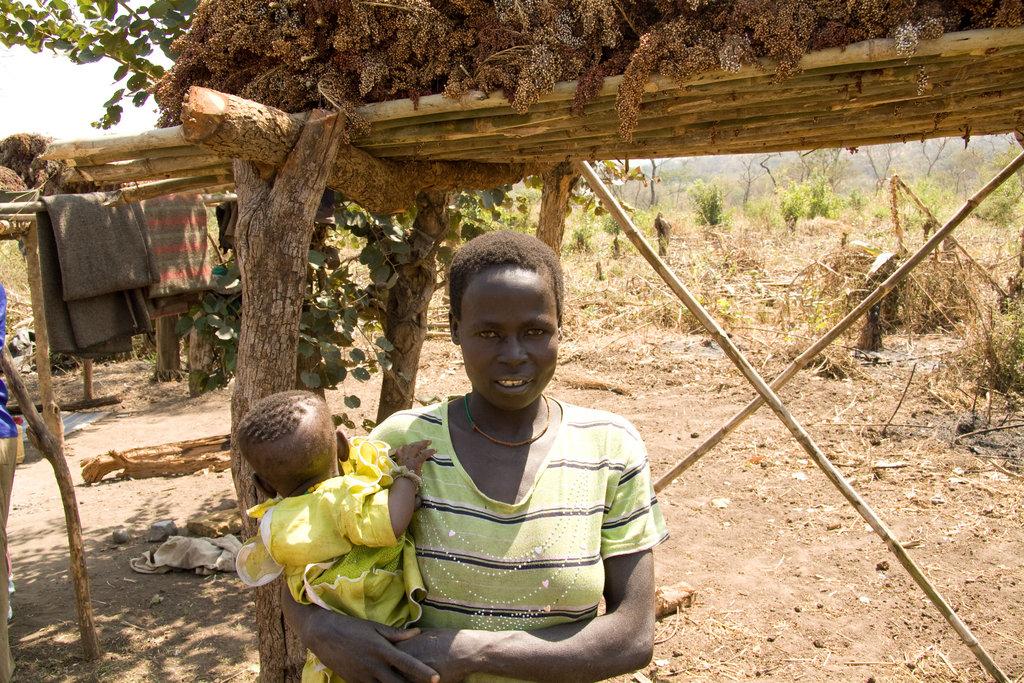 Robia Ikiata - project beneficiary