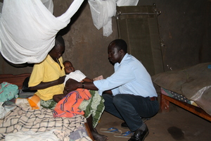 An - input -malaria -  patient under treatment