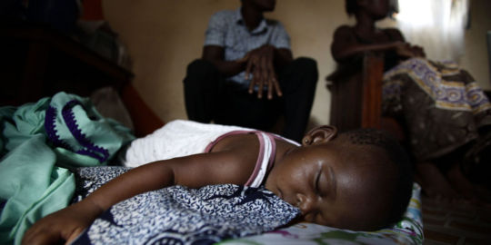 Malaria Is not a Friend to any Child in Africa