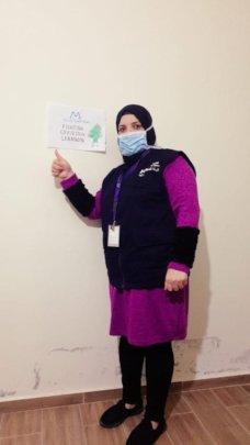 Nafous, Health Outreach Volunteer in Lebanon.