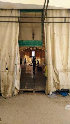 Children were lost spread across the camp