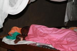 An - input -malaria - patient -Loheru health post