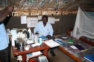 Drug revolving fund at Omilling health post