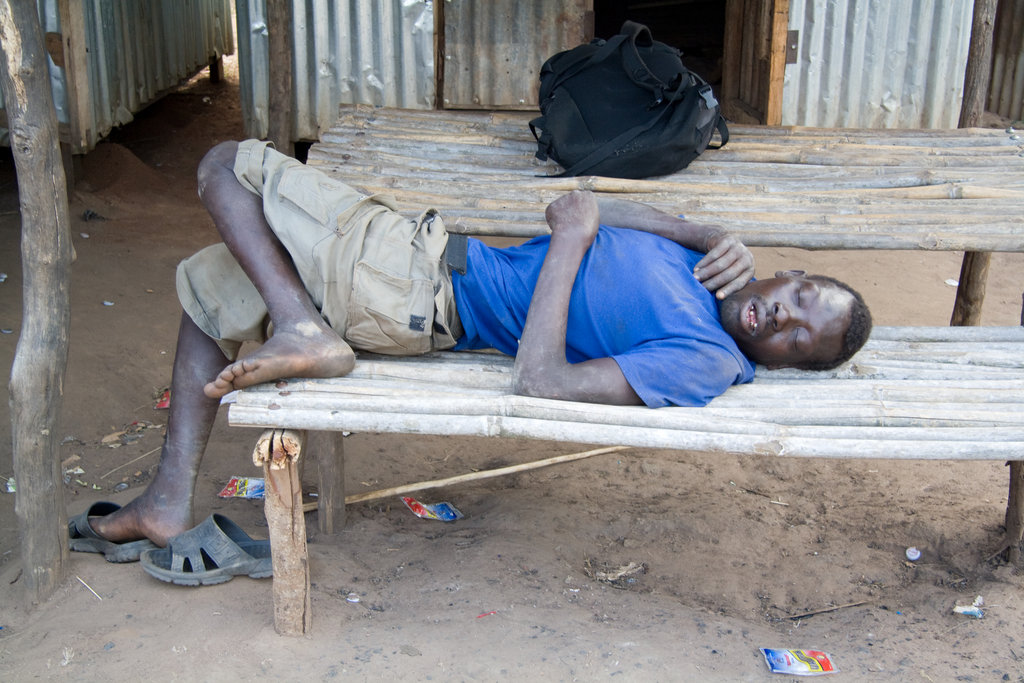 High fever patient in Omillage village