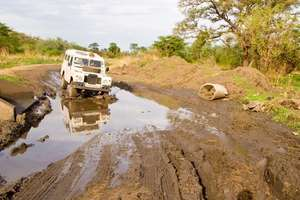 without Land Rover We can't get to  Omilling