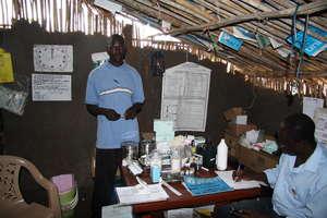 Medicines hand out unit