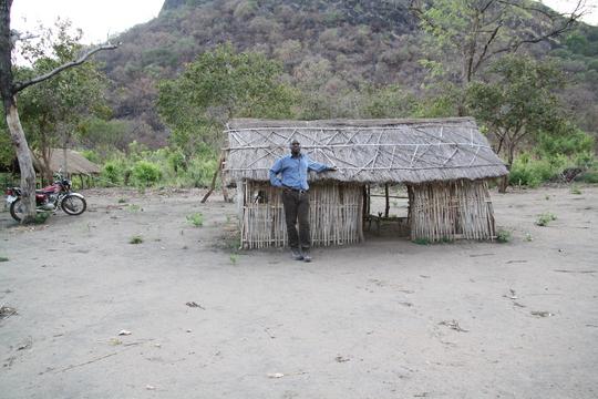 William Ochieng visits Mairo primary school