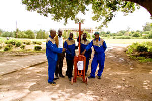 Donated soil producing machine