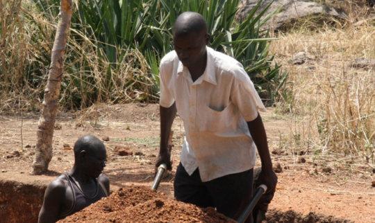 Interlocking soil blocks are good!