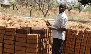 Francis, Interlocking soil block trainer