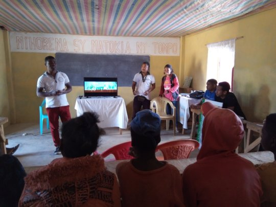 The argonomist facilitators classroom session