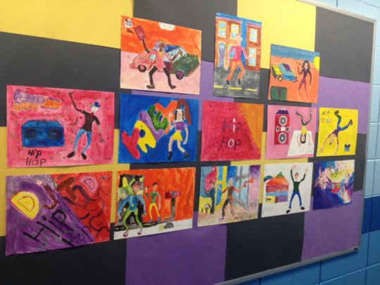 Visual Arts at PS163 - May 2016