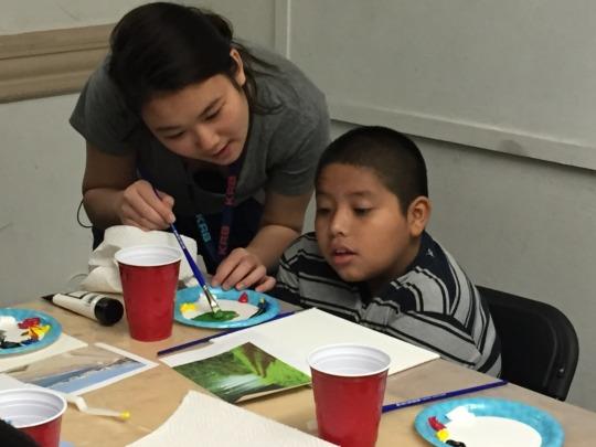 Visual Arts Workshop at AFA