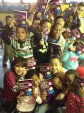 LTA students with their books.