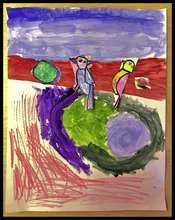 Student artwork from our Haiku Program.