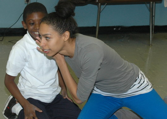 Workshop at New Alternatives for Children