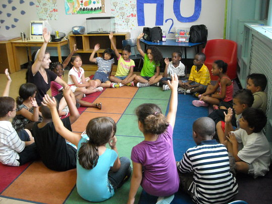An Arts For All drama workshop