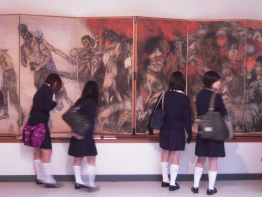 Create Virtual Tours to Share the Hiroshima Panels