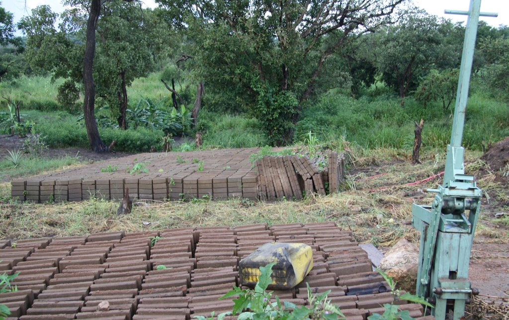 Soil Block Production Site