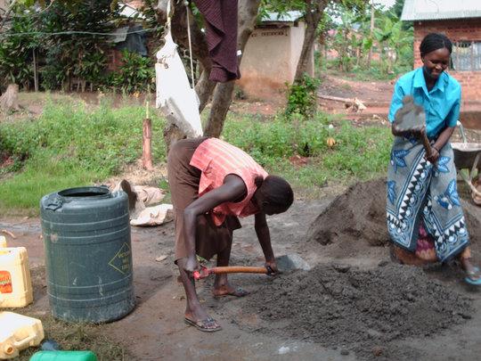 women contributes in community building