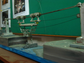 Nandu's model of VTC's gondola-style bridge