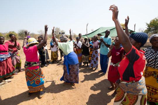 Celebrations at the Maunga Health Centre