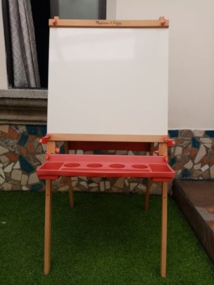 Students' new easel