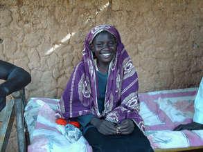 South Sudanese IDP girl