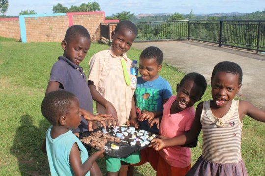 some of the beneficiaries at the Children's home
