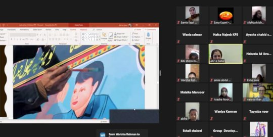 Workshop on Child Rights on Zoom
