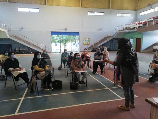 A mental health awareness workshop at KPS.