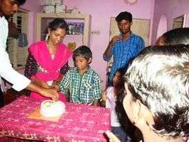 Birthday Celebration in Home