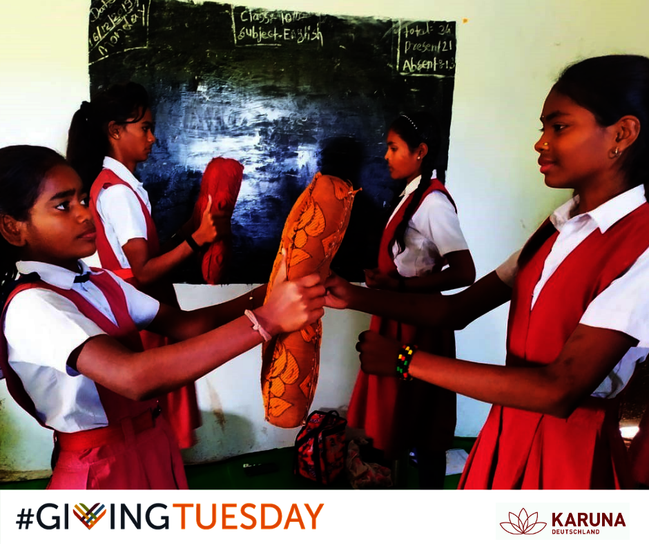 Help us support girls this Giving Tuesday