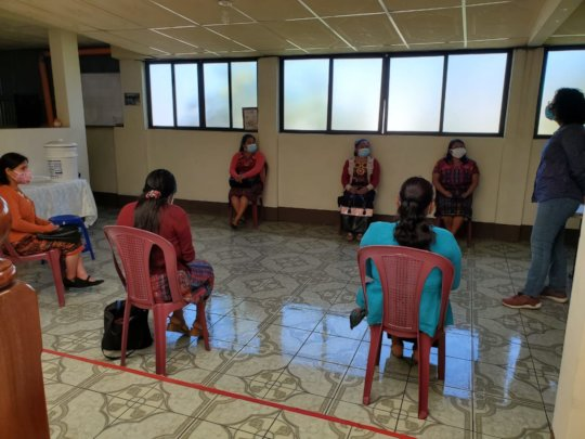 Training Community Advocates to lead workshops