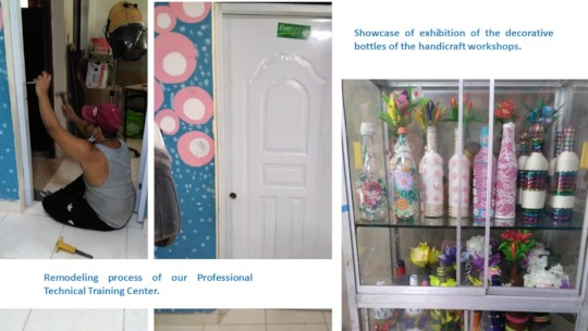 Remodeling process of our Professional Technical T