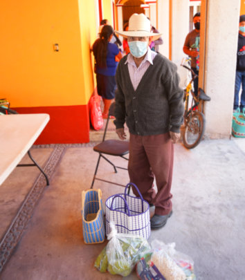 Adultos mayores en San Andres
