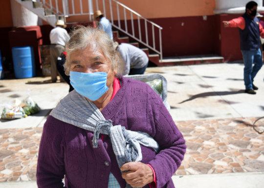 Adultos mayores en Huejotzingo