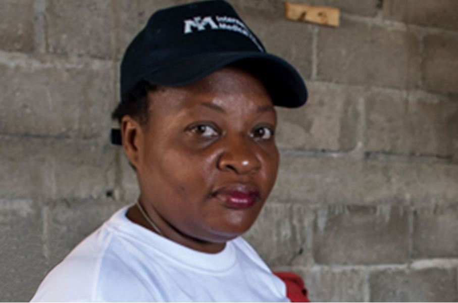 Christine is fighting cholera in Haiti