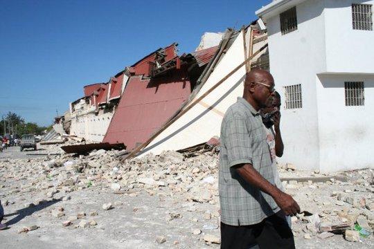 Initial earthquake damage