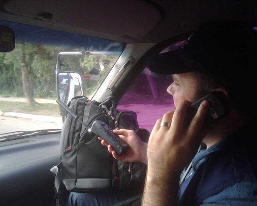 IMC's team boards coordinates travel in to Haiti