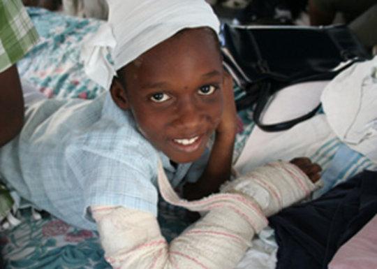 Provide medical care to Haiti
