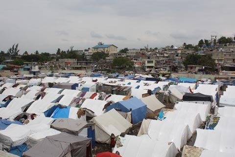 CHF is providing shelter to displaced families.
